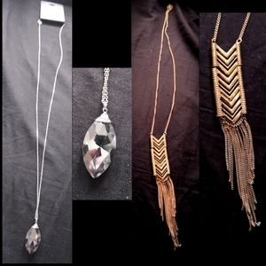 Forever 21 long necklaces